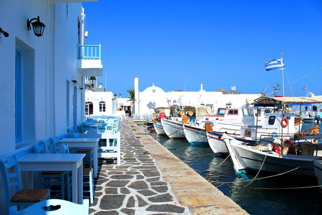 Grèce port