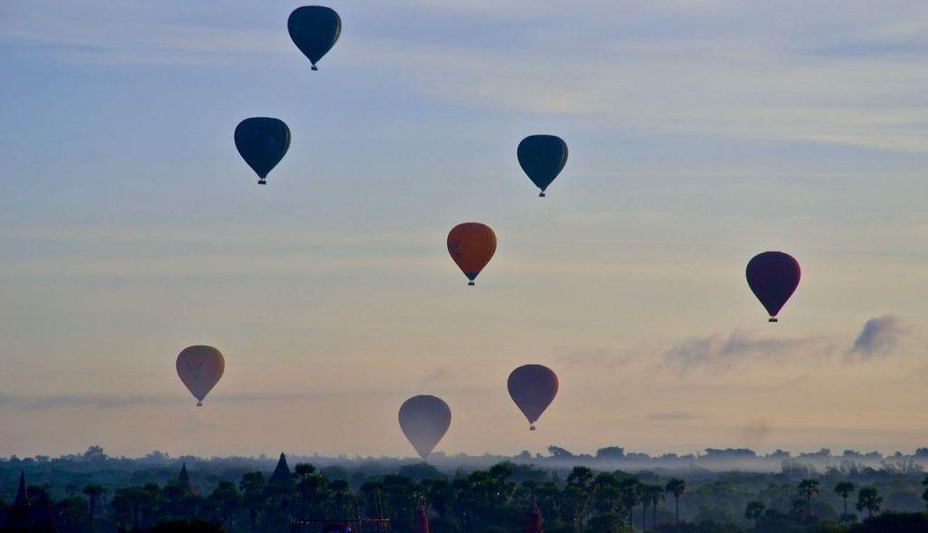 Montgolfière Bagan Birmanie
