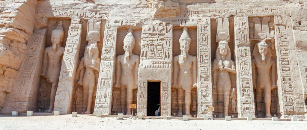 Abu Simbel Egypte